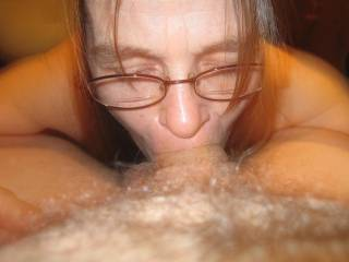 I would love to watch as my cock disappeared in your wet warm mouth. Would feel so good