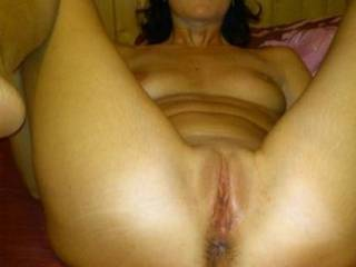 I wish you were thinking of my cock sliding inside your amazing wet pussy x
