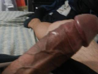 Very nice. I would take that nice big cock of yours any way that you want.