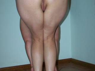 Fantastic invitation! ... both holes look tight but I would choose her sweet pussy.