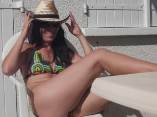 My beautiful wife Sandrine for you