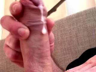 Hey there….it's thought I'd drop by and show you all what happens when I pull on my cock and imagine all of you girls watching. (Hoping that it may even prompt a round for self-fucking yourselves too. Either way, happy to share anytime/anyplace/anyw