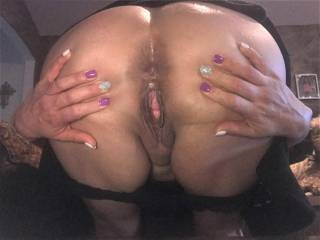 You already know this, but Melissa loves anal sex....so she is showing you how she likes to spread those ass cheeks to get ready for action!