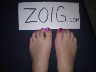 my wifes sexy feet,