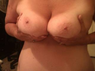 Wow what a great set. Would love to have you beat me in the face with those sweet tits. Nice