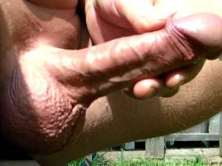 outdoor dick and blowjob