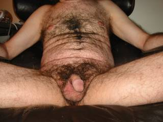 I want girls to be attracted to my body and penis. So I made this picture.  I have a lot of body hair