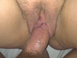 Fucking wife's pussy