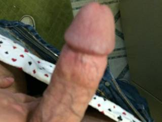 Throbbing right now! I need a good wank! Want to help?