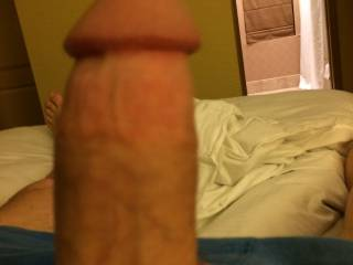 That is one nice thick meaty cock. Would love to suck that thing, feel it in my tight virgin ass.