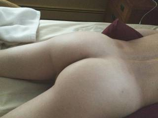 I spank this while he fucks me...what else should I do to it?