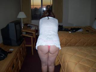 She loves to have her ass smacked.