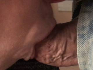 I love feeling her wsrm, soft lips stroking my shaft as she sucks and uses her tongue to extract her reward😉