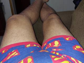 Hot chick I used to bang gave me these boxer briefs. I must have fucked her Super!
