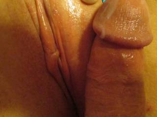 My BF pulled out, I came all over his Cock as he Fucked me and whispered into my ear about sharing me with other men, What will you whisper into my ear? ;) Please tell.. Xo*