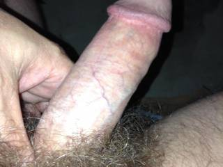 Press your pubic hair against my nose as I suck that precious cock to completion!