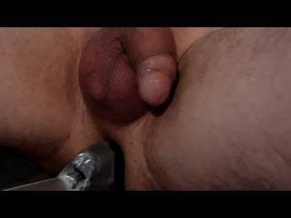 fucking machine DIY fuck anal vibro insertion zoom cam POV toy play ass