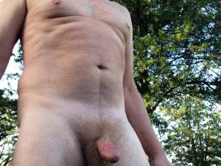 Love being nude outdoors with a chance of being caught.