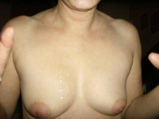 love to contribute then clean your beautiful tits friend!
