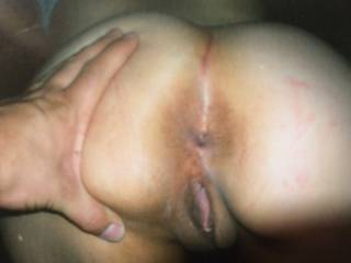 Found some old pics of my exs sexy pussy and ass