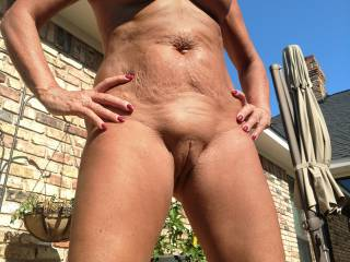 Poolside naked!!! This is how we roll. Come join us and let the fun begin.