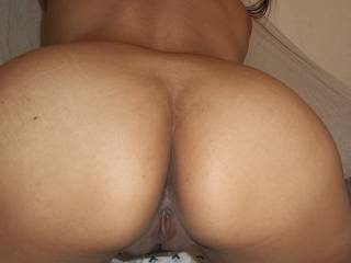 my rear pussy view