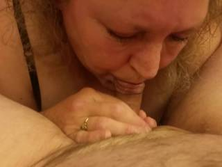 she just loves to suck cock