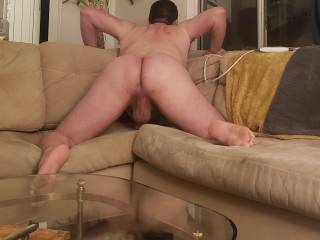 Better pic if my hubby's juicy fuckable ass! About to take it in that ass!