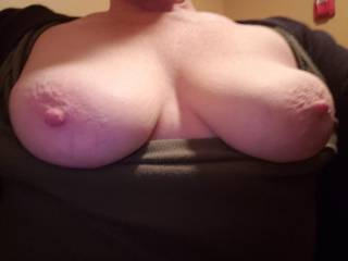 Tits out