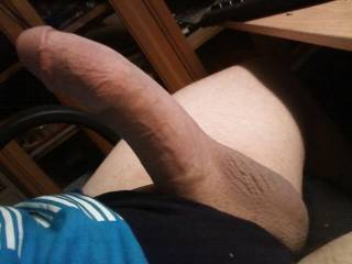 Your cock looks real mouth watering in this pic