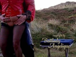 uuhhhhhhh...........outdoor Fuck from behind.......will you Fuck me hard.....love to see hard fucking cocks in leather pants.  GG Angelique