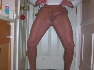 to slide my hands over your legs and cock to explosion!!!!!