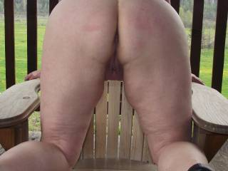All these shots of your naked ass is driving my cock wild!