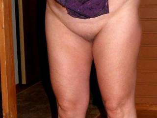 Wife try on her new lingerie.........