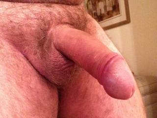 You have a splendid cock and I sure would likew to handle, stroke and suck it untel you jaculate in my mouth and then suck it dry.  Looks terrifioc