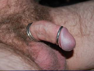 More pics of me having some fun with cock rings
