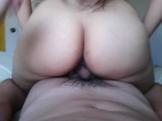 would you like it if my hubby fuked your hot ass  then i could lower my pussy on to your hubbys face , whilst you're riding that hard cock .nothing better than having both holes full of cock.