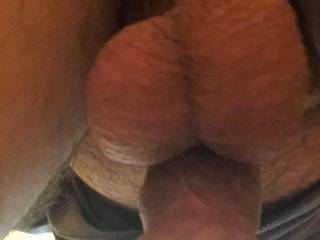 Awesome view, it has me thinking of sucking that cock and swallowing all your warm salty cum over and over.