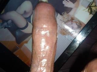 my hard cock in condom , wanne see more of it ?
