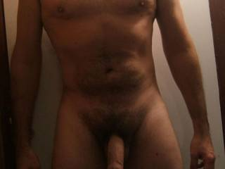 body shot of me and my cock, what do you think?