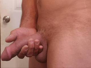 Having a good dick day and wanted to show it off. What you think?
