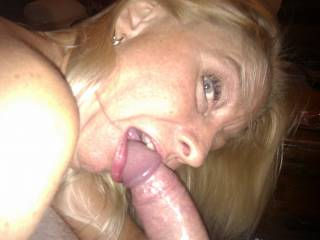 if its to much of a job ill take a couple off ur hands lol,she can suck me anytime :P
