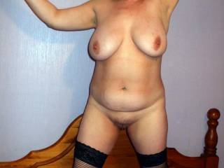 I'd love to do it with you, love your body, like to suck those big tits and fuck and lick your smooth juicy pussy.