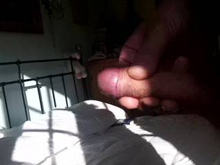 mmmm lovely smacking of your rigid cock till it shot a load!