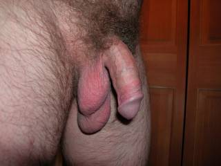 I think soft can be sexy too, don't you? Love the way my balls are hanging in this one!