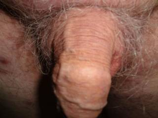 This is my dick soft. Do you want bto see it hard?