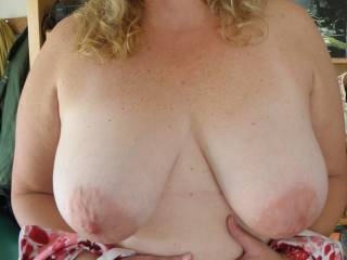What fabulous tits...looks like they will take more than a load - I can help,