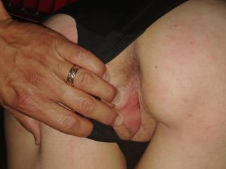 See how wet I get when I\'m spanked