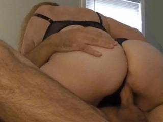 Throw back set from our younger days:  A strong hand pushing that thick ass down onto a nice hard cock. Prefer it younger and more slim? Or thicker and more experienced?