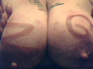 Hell yea i would love to squeeze those big juicy titties !!!!!!!!!!!!!!!! :-)
